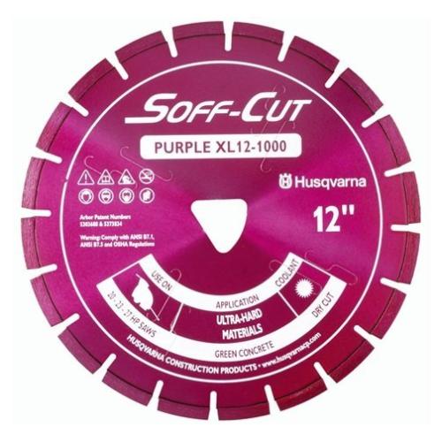 Husqvarna 542756100 XL10-1000 Excel 1000 Series Blade and Skid Plate, Purple