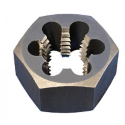 Alfa Tools 1/2-13 RETHREADING HEX DIE CARBON STEEL