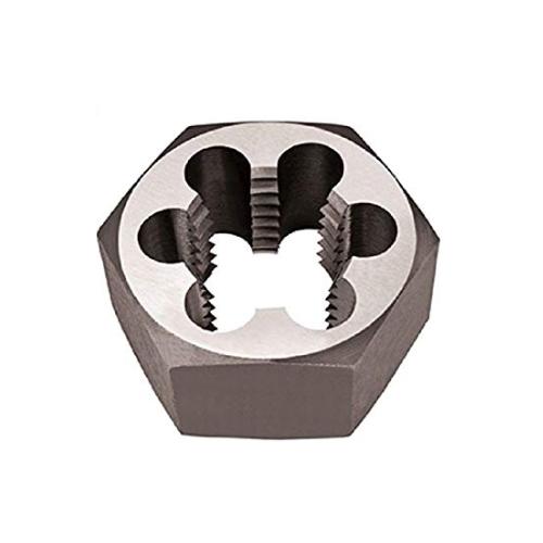 Alfa Tools CSRTD70728 1.1/2-6 Rethreading Hex Die Carbon Steel