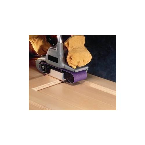 """3M 81412 3"""" x 24"""" 80 Grit Purple Cloth Sanding Belts (761D)"""
