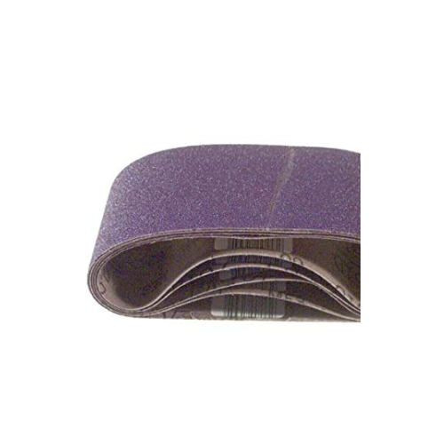 3-Inch by 24-Inch Purple Regalite Resin Bond 100 Grit Cloth Sanding Belt