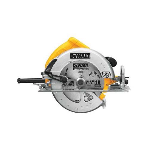 Dewalt Circular Saw, 7-1/4 In. Blade, 5200 rpm