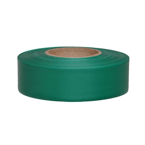 1 3/16 in X 300 FT Taffeta Safety Roll Flagging Green