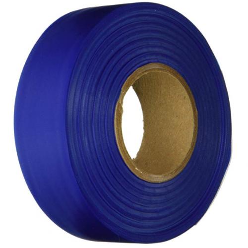 Keson FTB Ribbon Marker Flagging Tape, 1-3/16-Inch by 300-Foot, Blue
