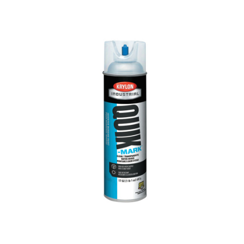 Krylon Quik-Mark APWA Water-Based Inverted Marking Paints, 17 oz, Clear
