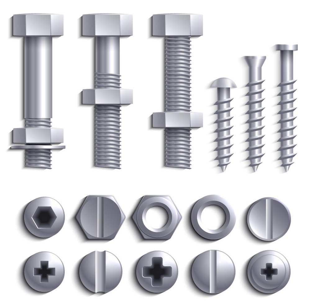 Screws, Washers, Nuts, Bolts