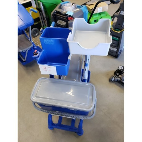Janitorial Cart with Accessories - USED (JC-100)