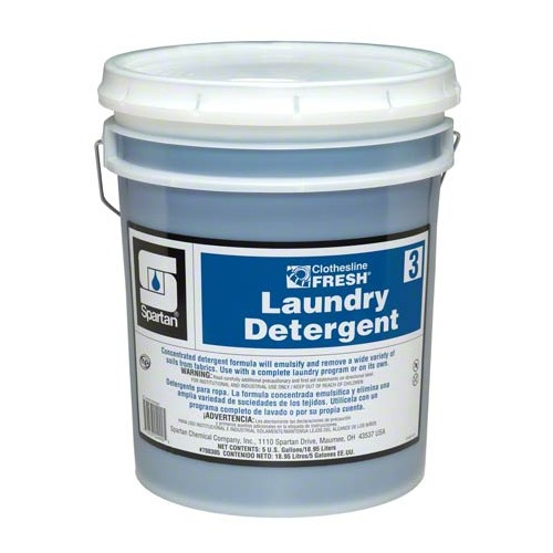 Clothesline Fresh Laundry Detergent #3 5 Gallon Pail (7003-5Gallon)