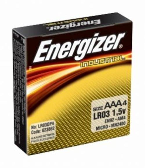 ENERGIZER AAA ALKALINE INDUSTRIAL BATTERY (24/BOX)