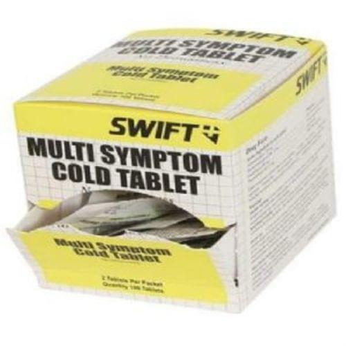 Cold Tablets Multi-Symptom 5mg, 50-2pks/Box