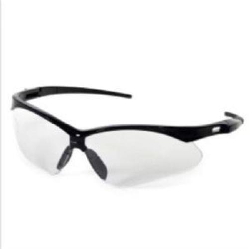 INOX ROADSTER - Clear Lens Safety Glasses with Black Frame, Sold per Box of 12 Pair