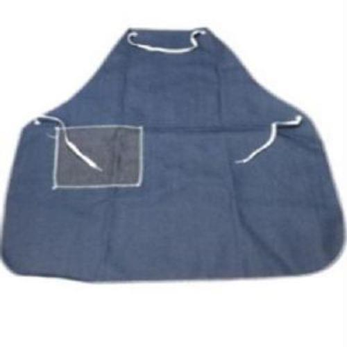 Denim Apron w/Hip & Chest Pkt, Grommets,  28'' x 42'', sold per dozen