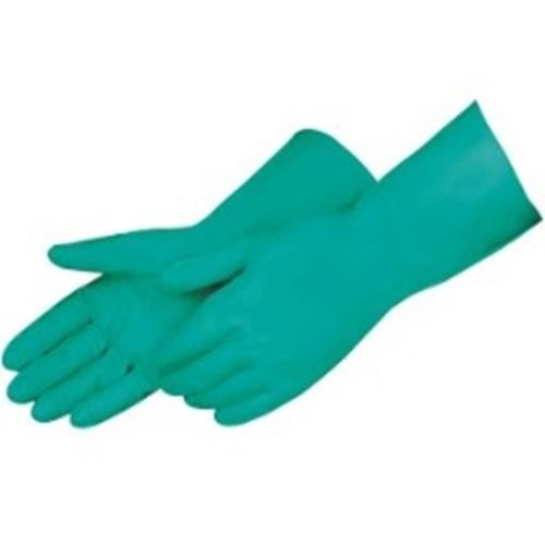 "11ml 13""  Unlined Green Nitrile Glove, Size 7"
