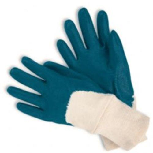 Light Weight Dipped Nitrile, Palm Coated, Knit Wrist