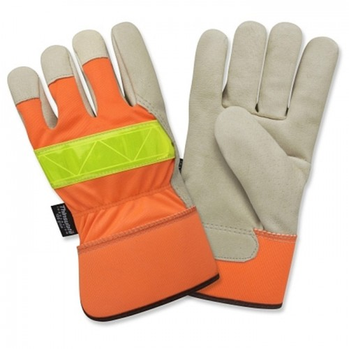 Large Insulated Leather Glove
