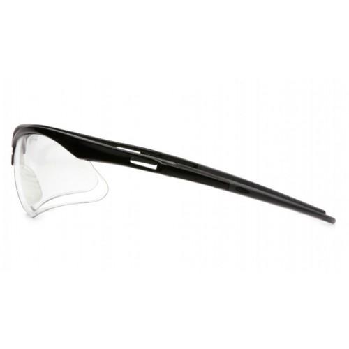Black Framed Clear Pyramex Safety Glasses