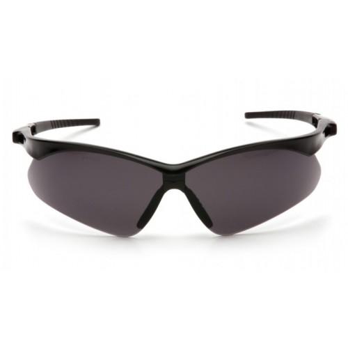 Black Framed Grey Pyramex Safety Glasses