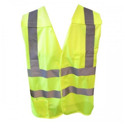 Medium Lime Breakaway Vest W/Pocket