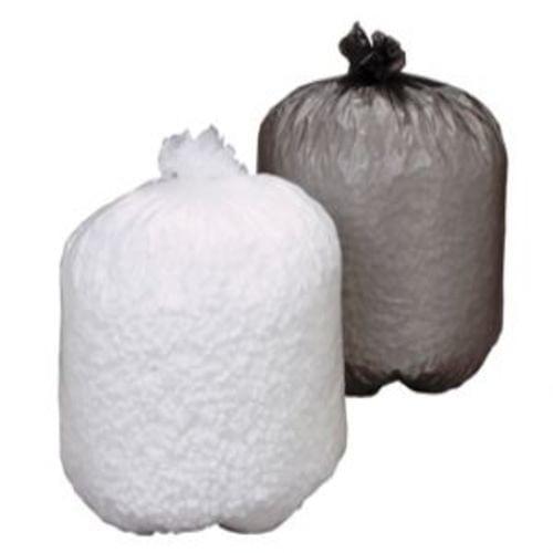High Density Trash Bag - Trash Can Liner, 24x33 Natural 8 micron 1000/cs coreless rolls 12-16 gal