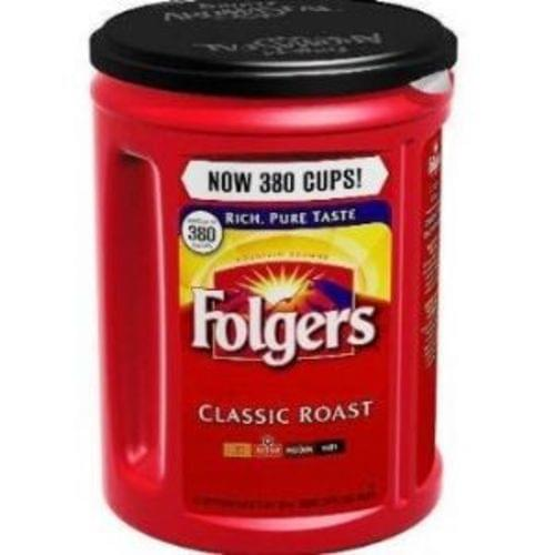 Folgers Coffee, Classic Roast Regular, Ground, LARGE 51 oz. Can