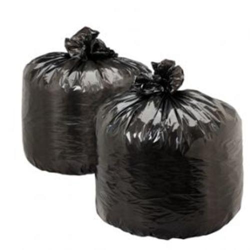 High Density Trash Bag - Trash Can Liner, 43x48 black, 17 micron, 200/cs