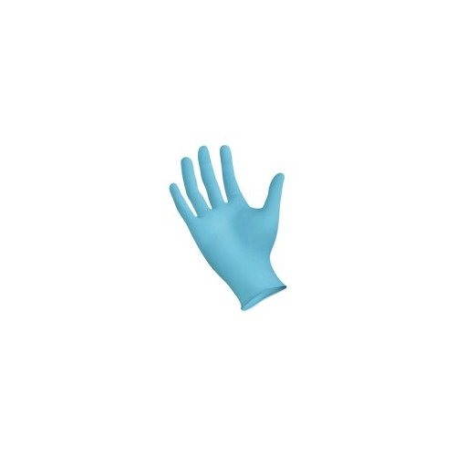 Gloves, Nitrile Blend, Medium, 100/box
