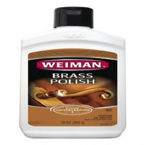 J.A. Wrights, Brass Polish. Give your brass a beautiful shine with Weiman Brass Polish. 8oz bottle. 6/Case