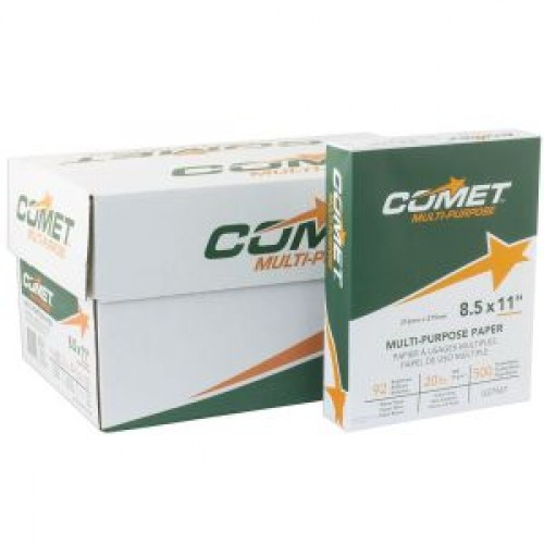Copy Paper, Premium Multipurpose, 20lb, 92 Bright, 8.5 x 11, 5000 sheets per case . Avail. for our Sth.Nevada customers