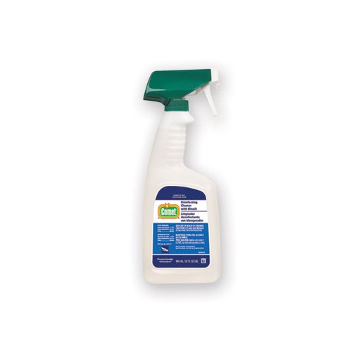 COMET Disinfecting Cleaner with Bleach, Ready-to-Use, 32oz 6/ct