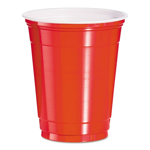Red Solo Cup, 12oz 50cups/Bag. Sold by the bag.