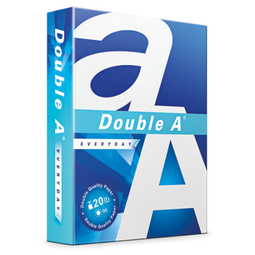 Paper, Copy, Letter Size, Double A Premium, 96 Bright, 20lb, 5000 sheets