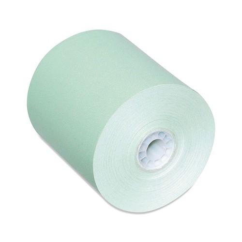 Receipt Paper Rolls, Thermal 3 1/8 x 230, Color: Green, 50/CS