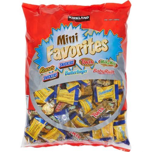 Kirkland Signature Mini Chocolate Favorites, Variety Pack, 5 lbs