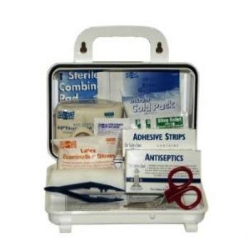 10 Man First Aid Kit, Metal