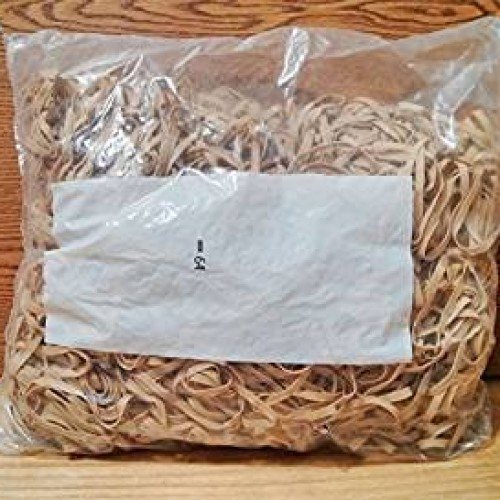 Postal Bands, Size #64  3 1/2'' x 1/4'' 10 5lb bags.