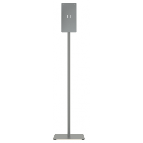 Hand Sanitizer Stand, 12 x 16 x 54, Silver