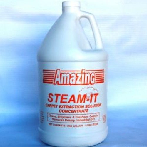 Amazing Steam-It Extraction Concentrate Carpet Cleaner. Gallon.
