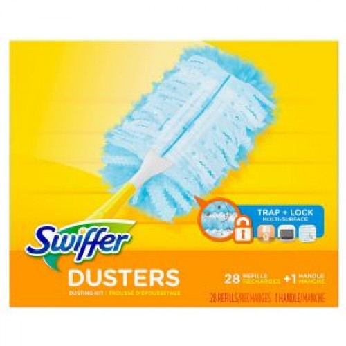 Swiffer Duster Refills + 1 Handle 28ct