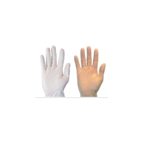 Blue Vinyl Gloves, Powder  FREE & Latex FREE - X-large, 100/box