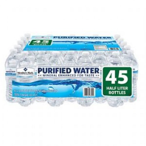 Purified Bottled Water,16.9oz, 45pk -  (Las Vegas / North Las Vegas / Henderson Area Only)