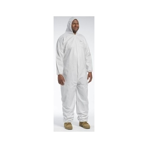 Posi-Wear BA Coverall with Hood, Elastic Wrist & Ankle 4XL