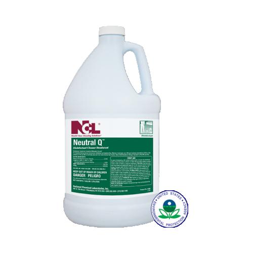 Neutral Q, Neutral Disinfectant Cleaner Deodorizer, 1Gal