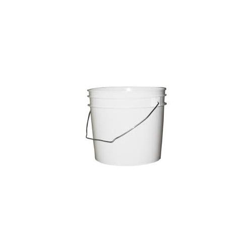 Pail, HDPE, W/Handle, 1gal, 100/Cs