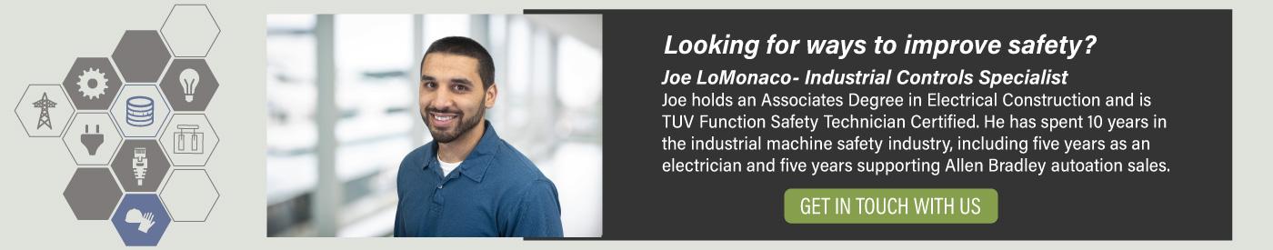 Joe LoMonaco, Industrial Control Specialist