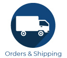 Orders and shipping icon
