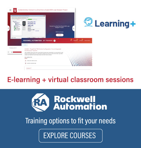 Explore Rockwell Automation's new Learning+ courses
