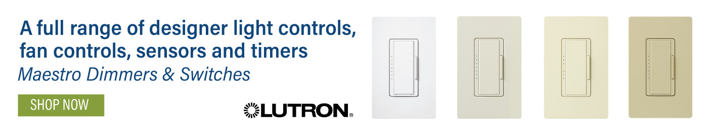 Lutron Maestro Dimmers & Switches