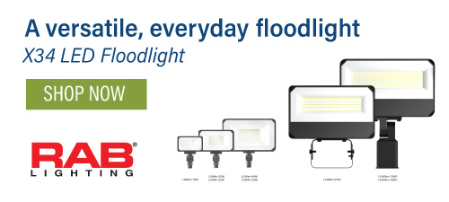 RAB X34 Floodlights