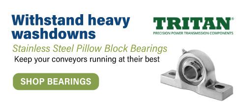 Tritan Stainless Steel Pillow Block Bearings
