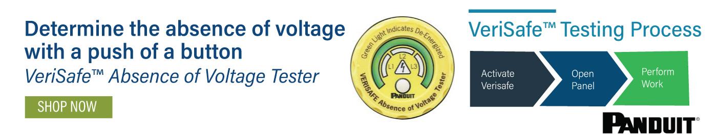 Panduit VeriSafe Absence of Voltage Tester